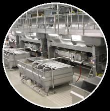 Automatic LATERAL MEMBRANE presses